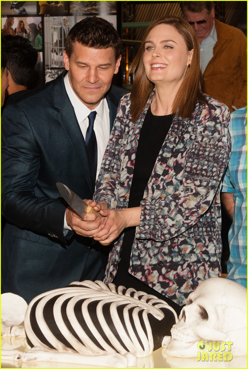 David Boreanaz And Emily Deschanel 2014 Emily Deschanel - Tele...