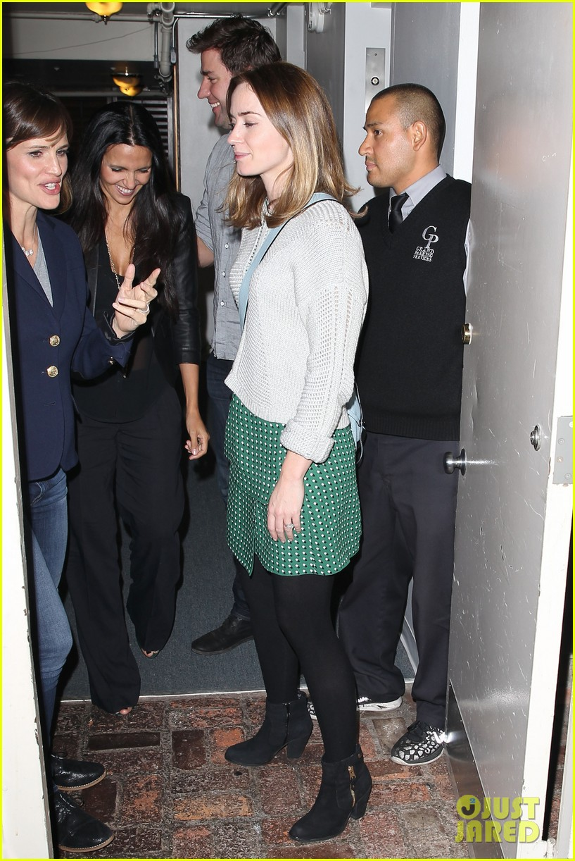Ben Affleck & Jennifer Garner, Emily Blunt & John Krasinski, & Matt ... Ben Affleck