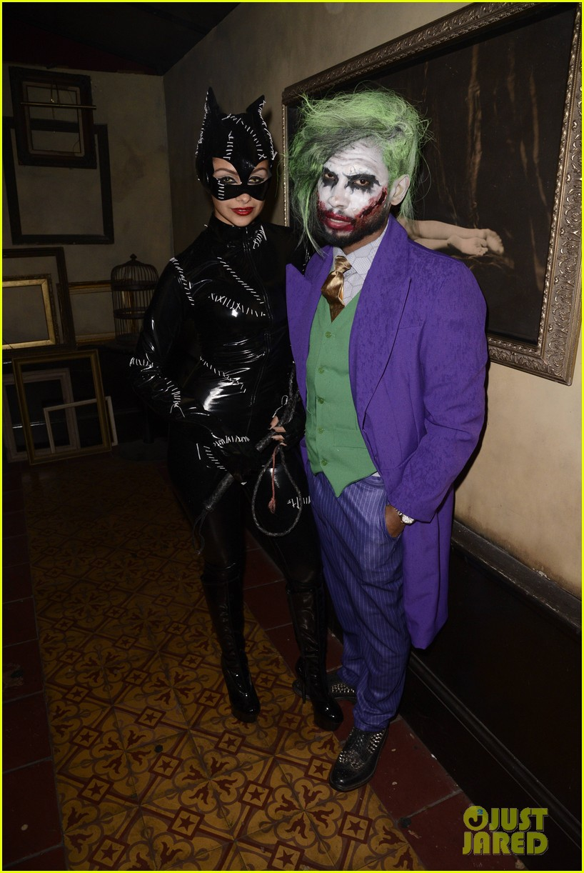 Miguel Looks Super Scary as The Joker at Just Jared's Halloween ...