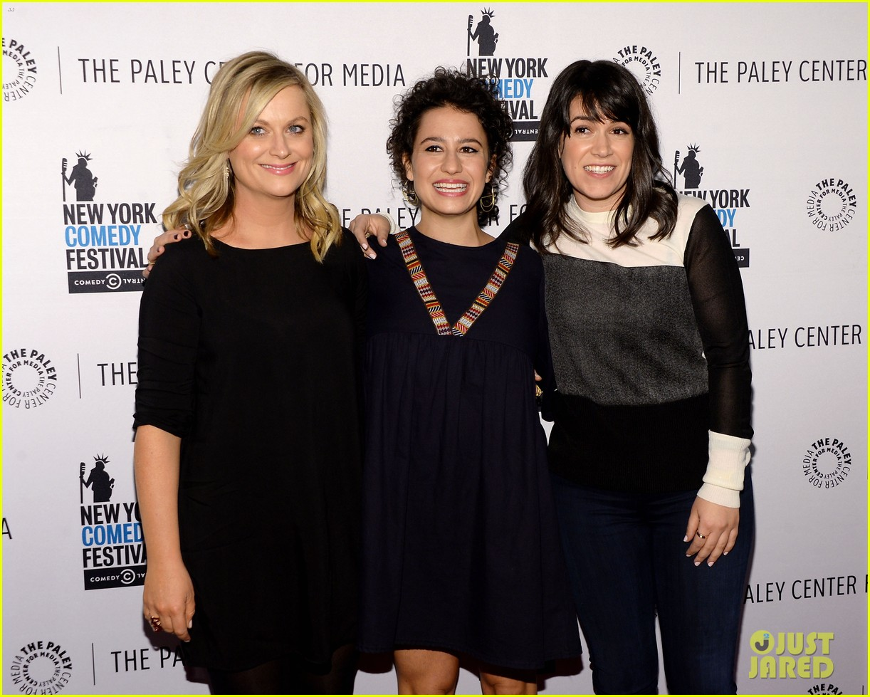 Photo of Abbi Jacobson & her friend  Amy Poehler