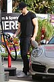 alexander skarsgard looks hot getting gas 09