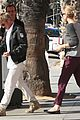 charlize theron sean penn date at ivy 07