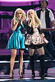 miranda lambert sings with meghan trainor at cma awards 2014 03