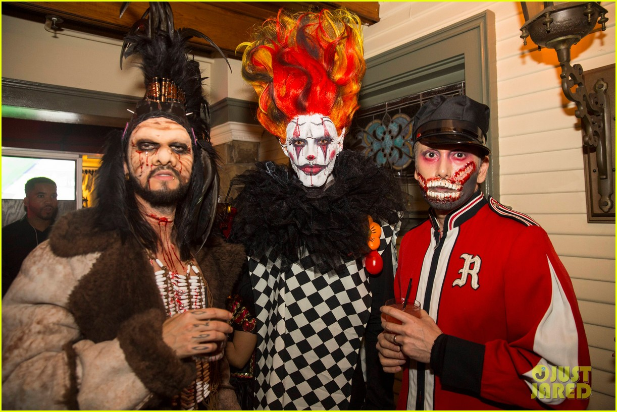 the vamps the wanted tokio hotel just jared halloween party 16