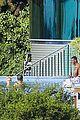 justin bieber goes shirtless at beverly hills mansion 23