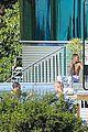 justin bieber goes shirtless at beverly hills mansion 27
