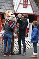 michael buble takes his son noah to a christmas theme park 22