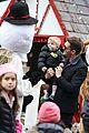 michael buble takes his son noah to a christmas theme park 27