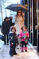 mariah carey snowy aspen shopping with the twins 13