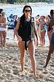 simon cowell takes selfies with fans on the beach 07