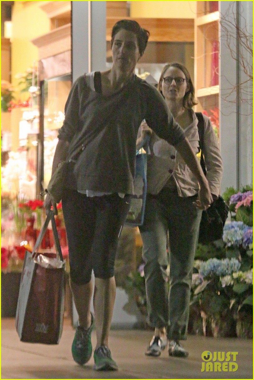jodie foster all smiles for shipping trip with wife 04