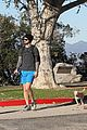 ashley greene hikes to burn holiday calories 13