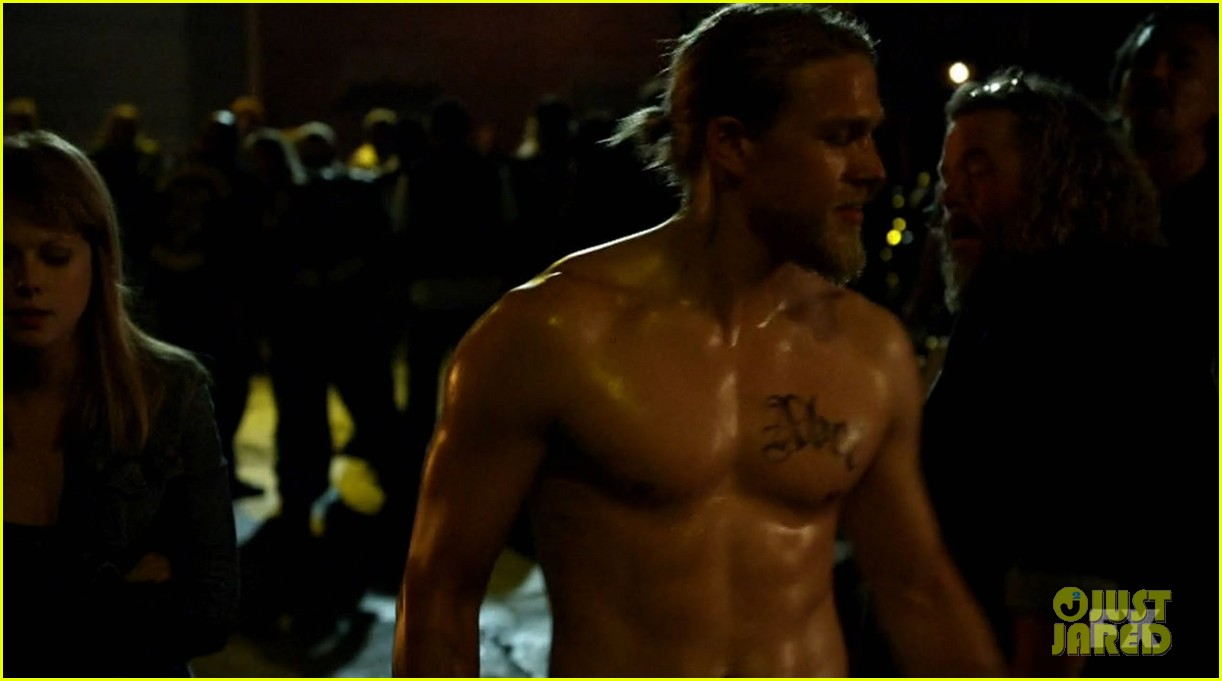 Nude sons of anarchy Charlie hunnam