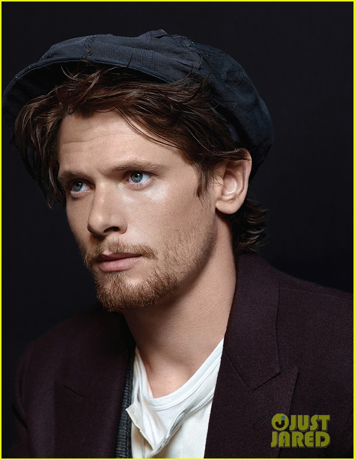 Unbroken&#39;s Jack O&#39;Connell Talks All About Angelina Jolie &amp; Brad Pitt in &#39;At <b>...</b> - jack-oconnell-luke-gimes-at-large-covers-exclusive-01
