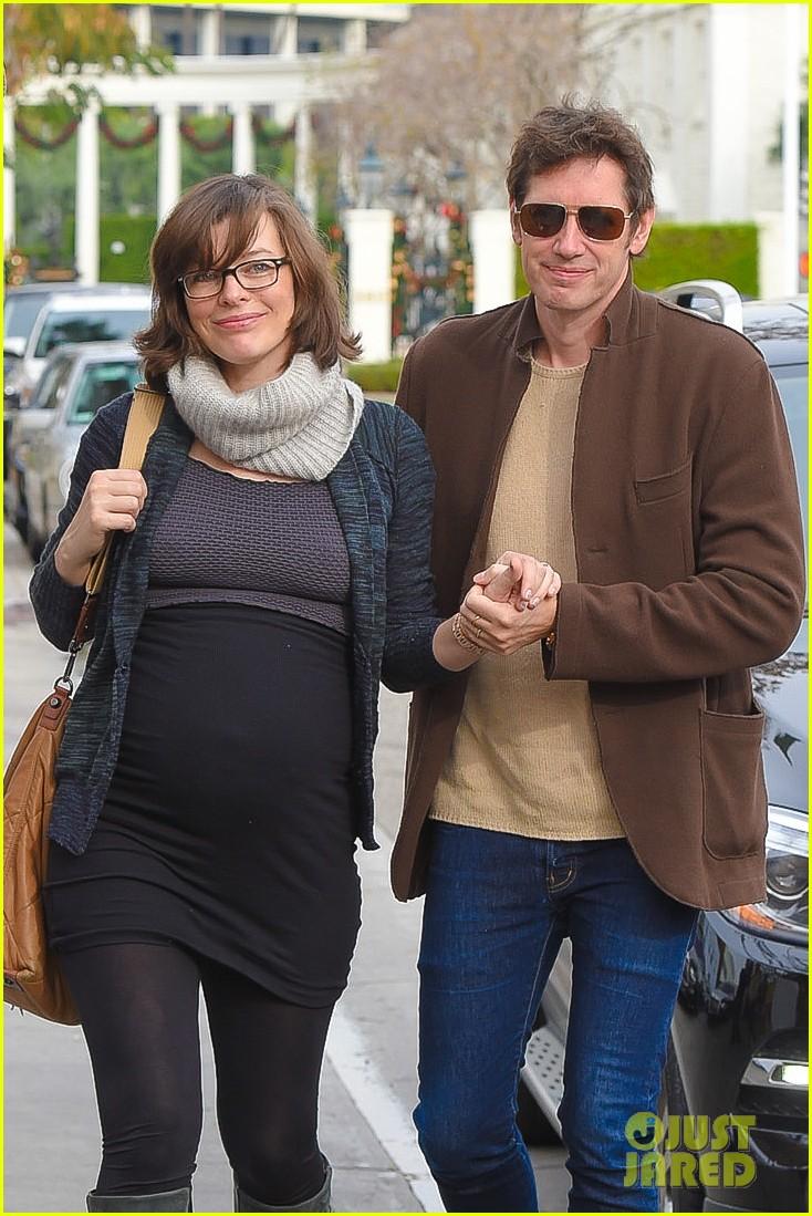 мила йовович и её муж фото