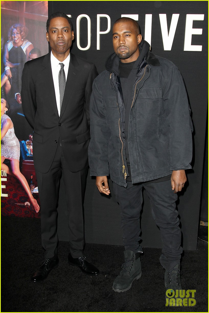 kanye west joins cast of top five at new york premiere 233254616