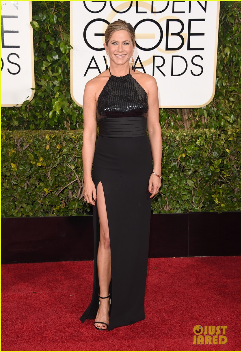 full sized photo of jennifer aniston golden globes 2015 01 photo 3277971 just jared. Black Bedroom Furniture Sets. Home Design Ideas