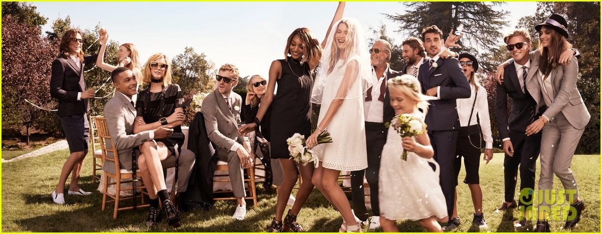 Full sized photo of behati prinsloo recreates wedding adam levine behati prinsloo recreates wedding adam levine tommy hilfiger campaign 04 junglespirit Gallery