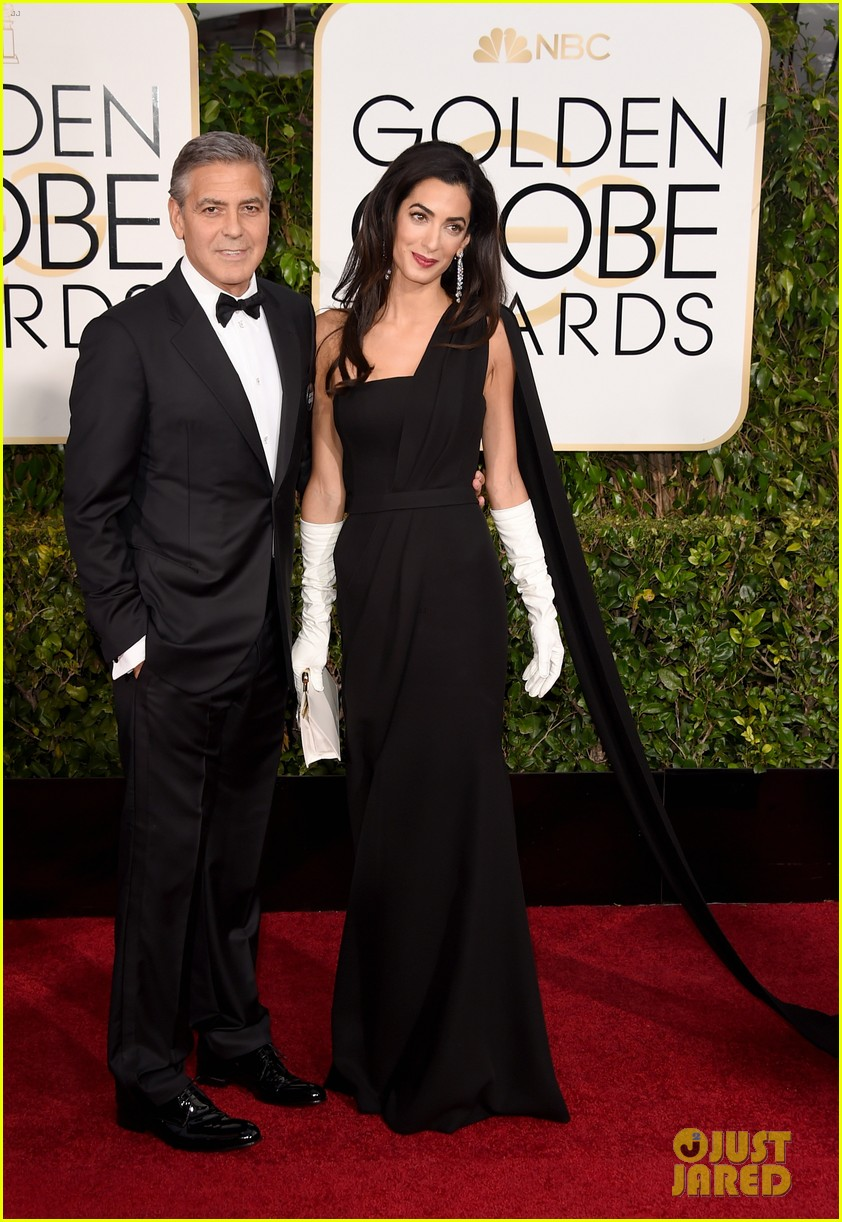 george clooney thanks wife amal during golden globes 2015 02