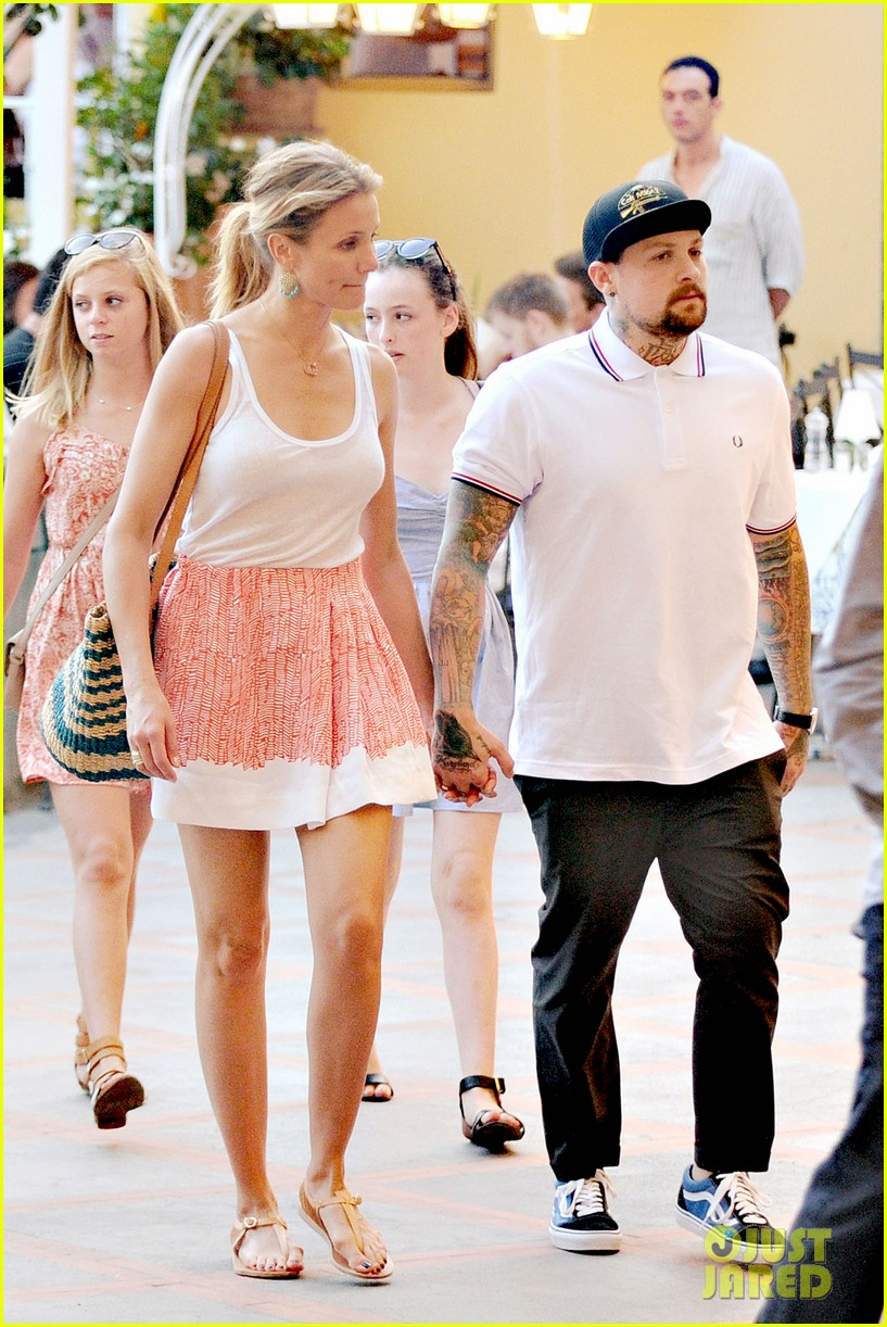 Cameron Diaz benji madden wedding