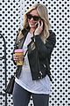 hilary duff works out before coffee 01