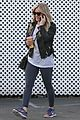 hilary duff works out before coffee 11