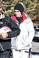 gwen stefani skiing mammoth first day of year 03