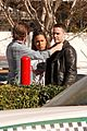 taylor kitsch gets ready for super bowl on true detective set 26