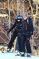 madonna goes skiing with an instructor 22