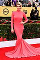 maria menounos goes gold for sag awards 2015 red carpet 09