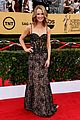 maria menounos goes gold for sag awards 2015 red carpet 15