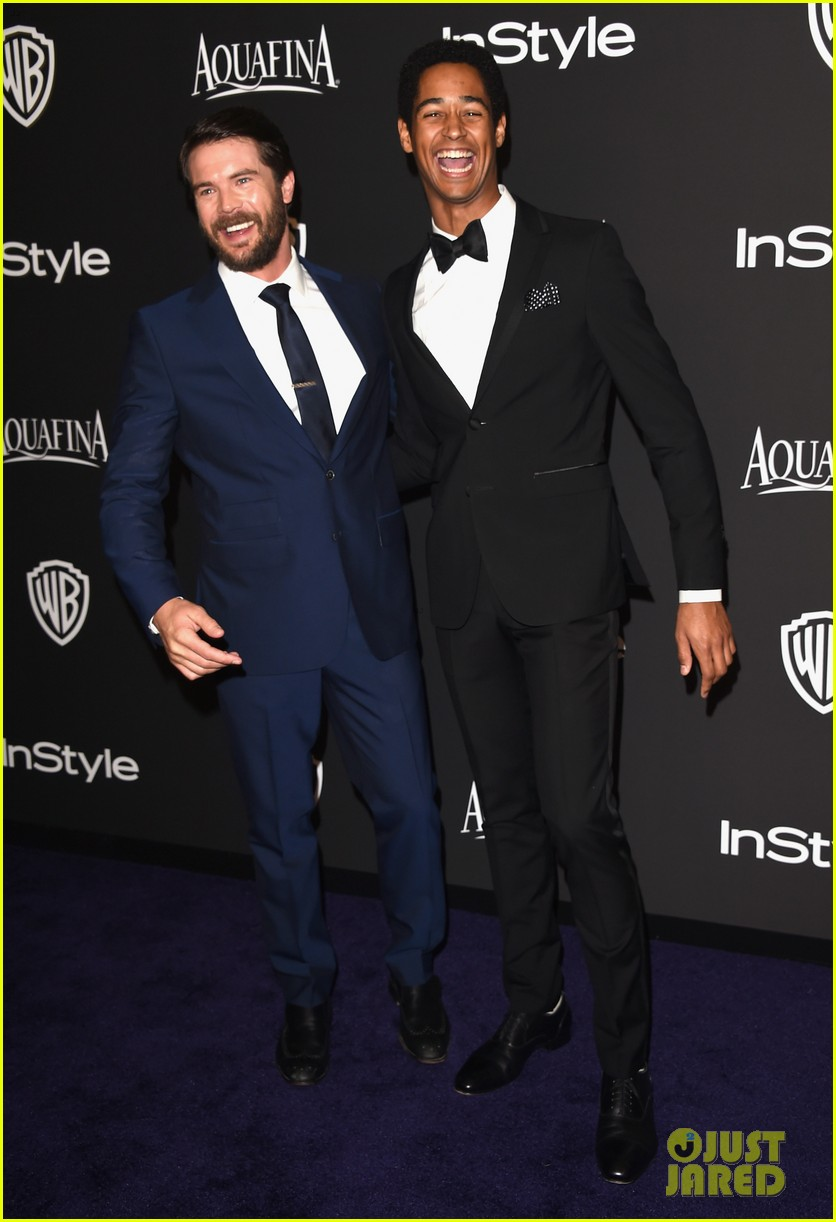 'how To Get Away With Murder' Cast Takes On Golden Globes!: Photo 3279111   2015 Golden Globes Parties, Aja Naomi King, Alfred Enoch, Charlie Weber,