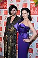 elizabeth olsen joins dita von teese conchita wurst at sidaction gala 03