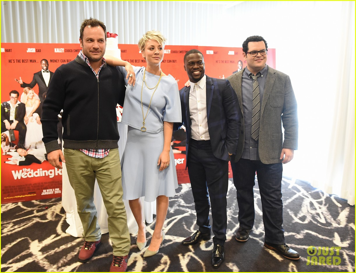 Wedding Ringer Cast Gets Amy Pascal S Support At Premiere Photo 3273792 Eniko Parrish Josh Gad Kaley Cuoco Kevin Hart Mimi Rogers