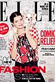 kate upton gives comic relief for elle uks new issue 04