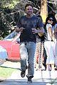 Photo 4 of Gerard Butler Shows Off His Pecs During a Jog