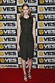 jamie chung karine vanasse get glam to present at the visual effects society 23