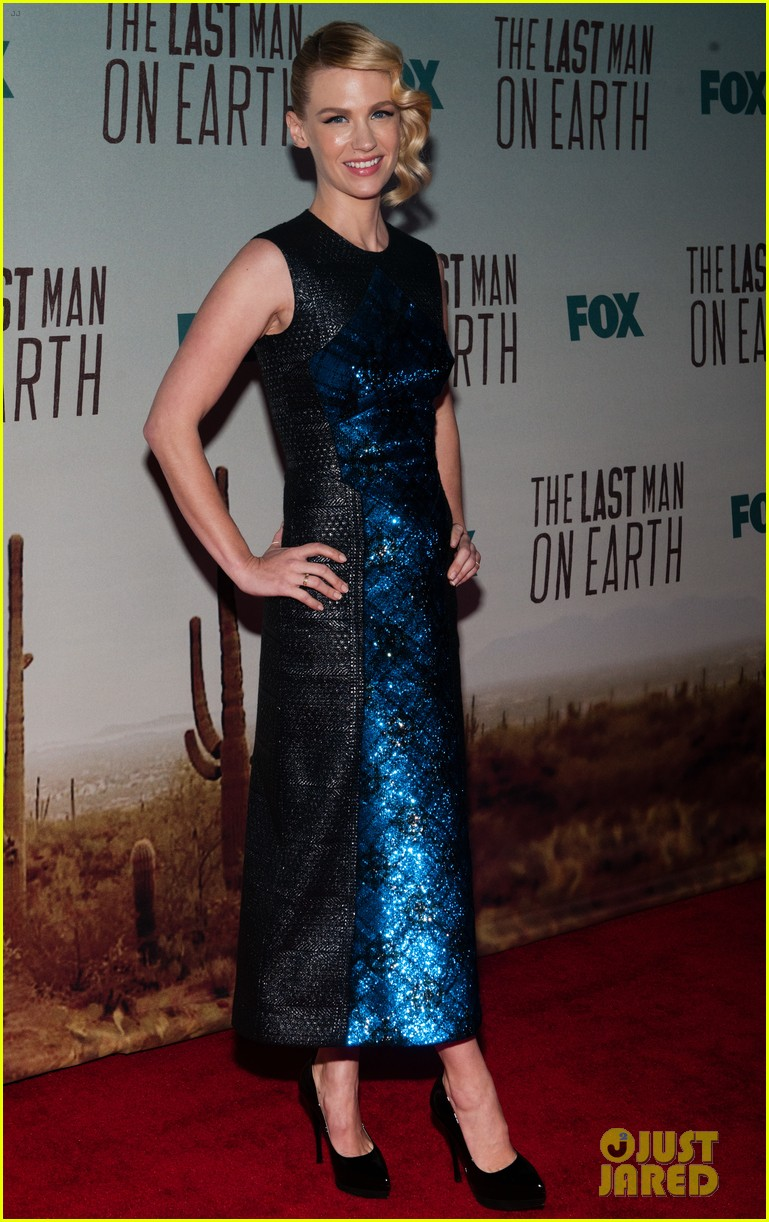 january jones joins will forte the last man on earth cast 063313799