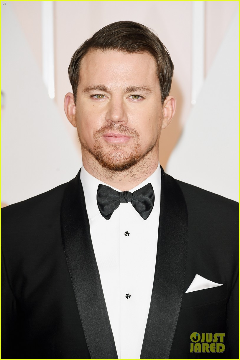Channing Tatum & Jenna Dewan Look Red Carpet Ready at Oscars 2015 ...