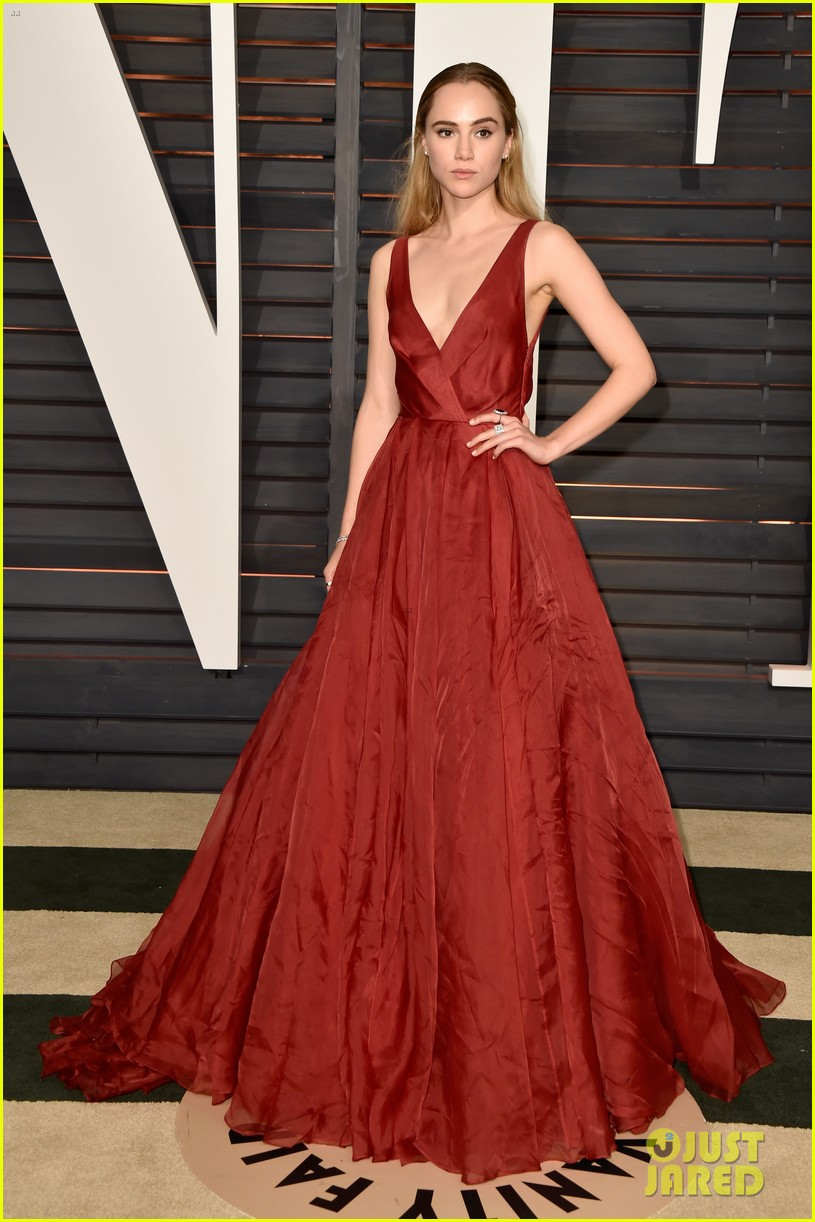 Full Sized Photo of suki waterhouse attended oscars 2015 ...