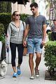 novak djokovic goes for romantic dog walk with wife jelena 14