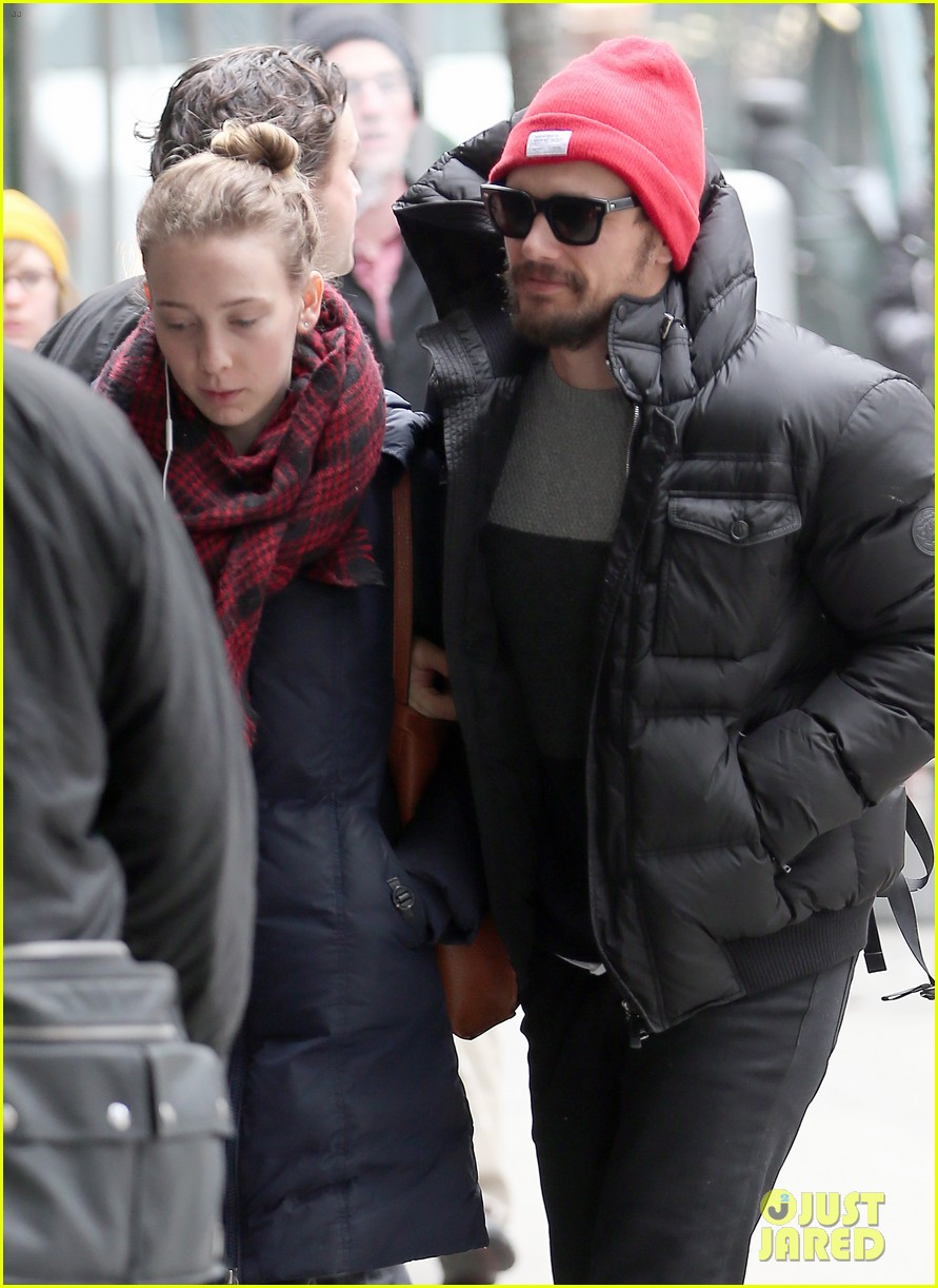 james franco kisses mystery girl during movie date photo