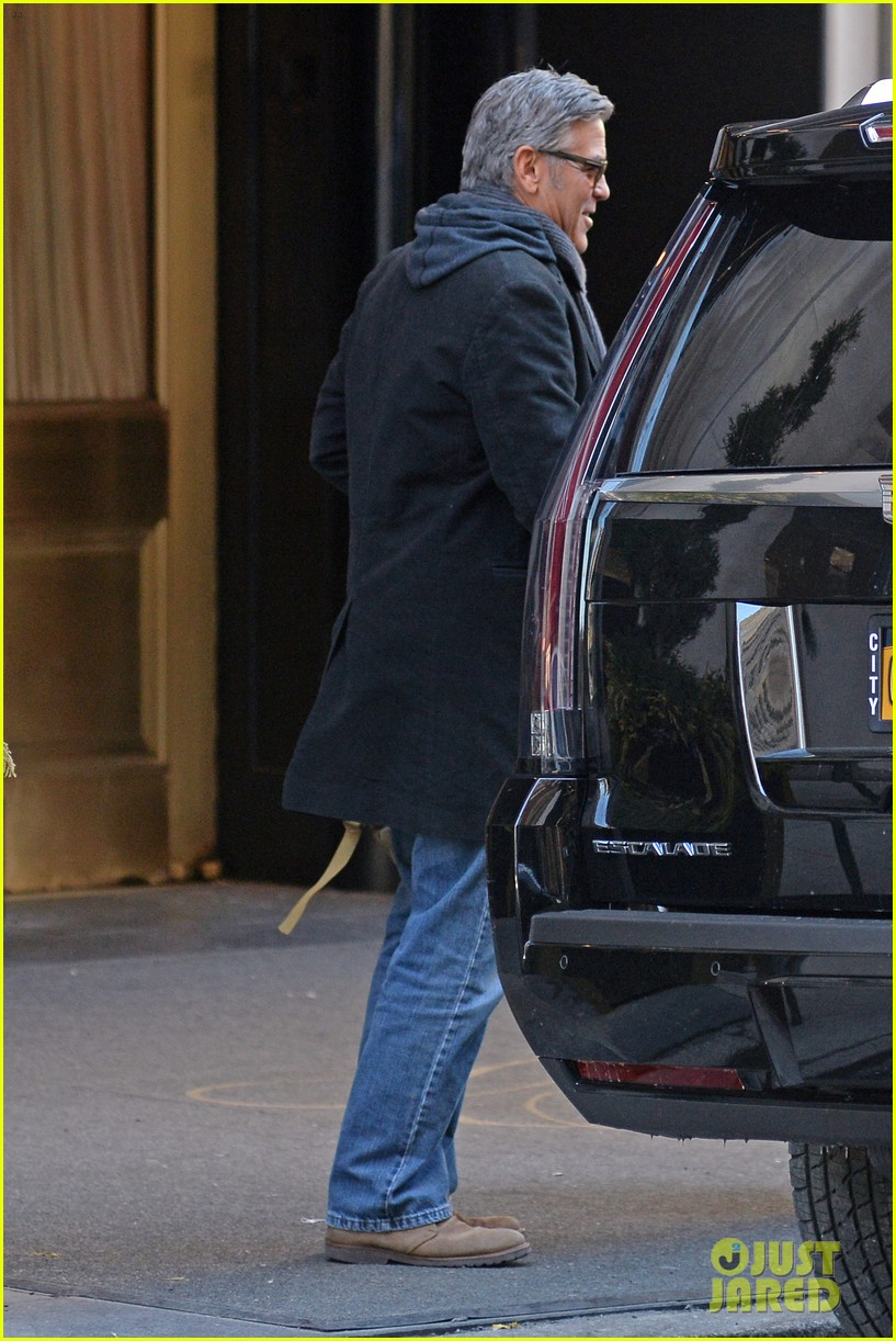 ... clooney money monster filming nyc 05 | Photo 3316740 | Just Jared Filming