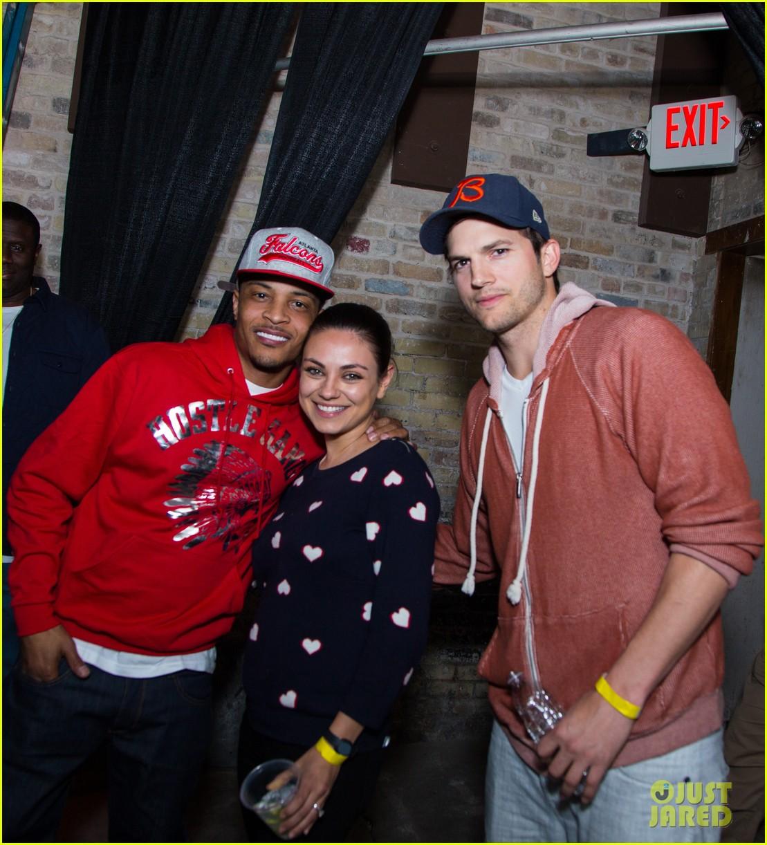mila kunis supports ashton kutcher at his sxsw event 01