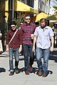 elijah wood out with friends for lunch 07