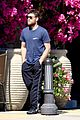 sam worthington steps out after baby news 03