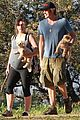 milla jovovich hike with paul ws anderson pregnant 14