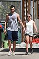 lea michele hikes with matthew after returning 05