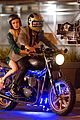 emma roberts has nerve to take motorcycle ride 10