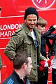 beckham family romeo london marathon 16